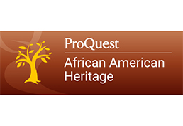 landing page African American Heritage database