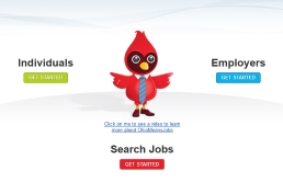Ohio Means Jobs landing page