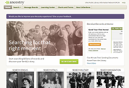 Library Ancestry Edition screenshot